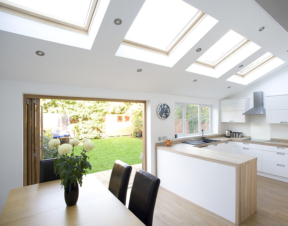 Kitchen extension design to create natural walkway - Property Design ...